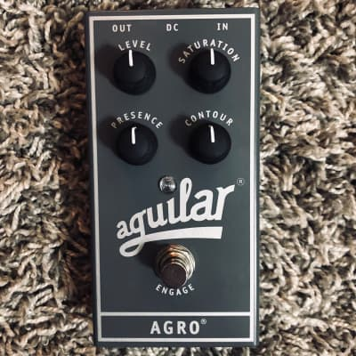 Aguilar AGRO Bass Overdrive Pedal With Box/Manual Excellent Condition for sale
