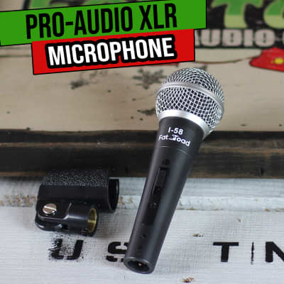 Cardioid Dynamic Vocal Microphones - Music Recording Studio Wired Instrument Mic