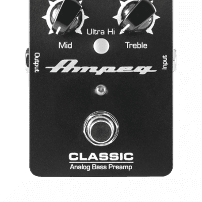 Ampeg Classic Analog Bass Preamp, New, Free Shipping