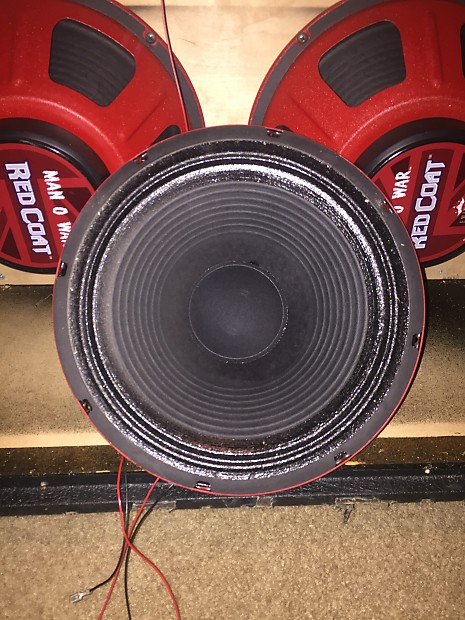 Eminence Man O War 16 Ω ohm Red Coat Speaker (RED) | Reverb