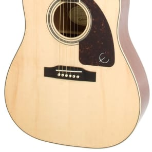 Epiphone AJ-220SCE Acoustic Electric Guitar - Natural for sale