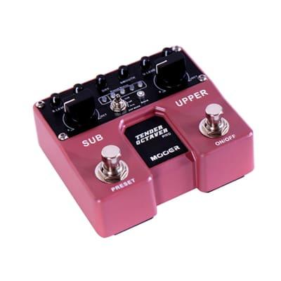 Mooer Audio Twin Series Tender Octaver Pro Guitar Effect Pedal