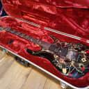 2014 Ibanez JEM77 FP2 Steve Vai Signature Electric Guitar Floral Pattern Black
