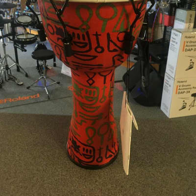 "Meinl 10"" Mechanical Tuned Travel Series Djembe - Pharaohs Script- PMDJ1-M-F"