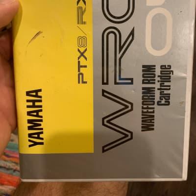 Yamaha WRC04 Waveform ROM Cartridge ( PTX8 - RX5 )