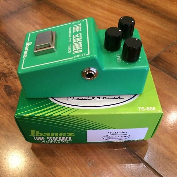 Ibanez TS808 Tube Screamer w/ Keeley Mod Price Guide | Reverb