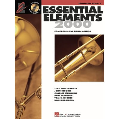 Essential Elements 2000: Comprehensive Band Method - Trombone | Book 2 (w/ CD-ROM)