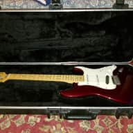 <p>Fender Made In America USA Stratocaster Guitar Fender Stratocaster Clapton Beck Era 1991 Candy Apple Red</p>  for sale