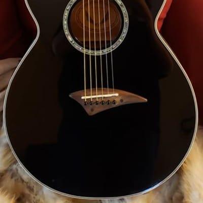 Dean Performer E CBK Acoustic Electric Concert Size Guitar for sale