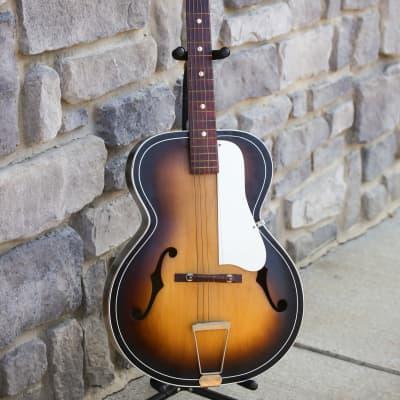 Old Kraftsman Archtop Acoustic - Vintage - two color sunburst for sale