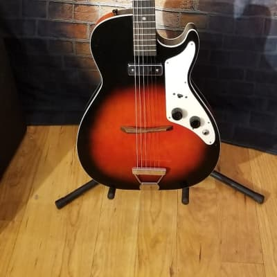 Holiday Stratotone H45 60s Redburst for sale