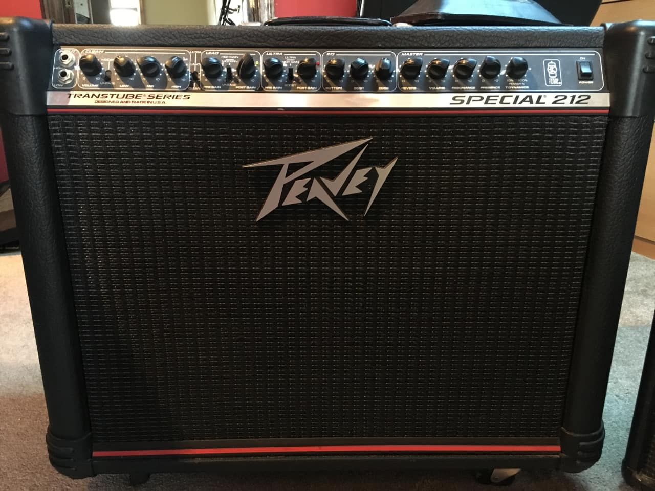 peavey transtube special 212 amp 2000 39 s black reverb. Black Bedroom Furniture Sets. Home Design Ideas