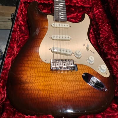Fender Custom Shop Stratocaster 2018 Tobacco Sunburst