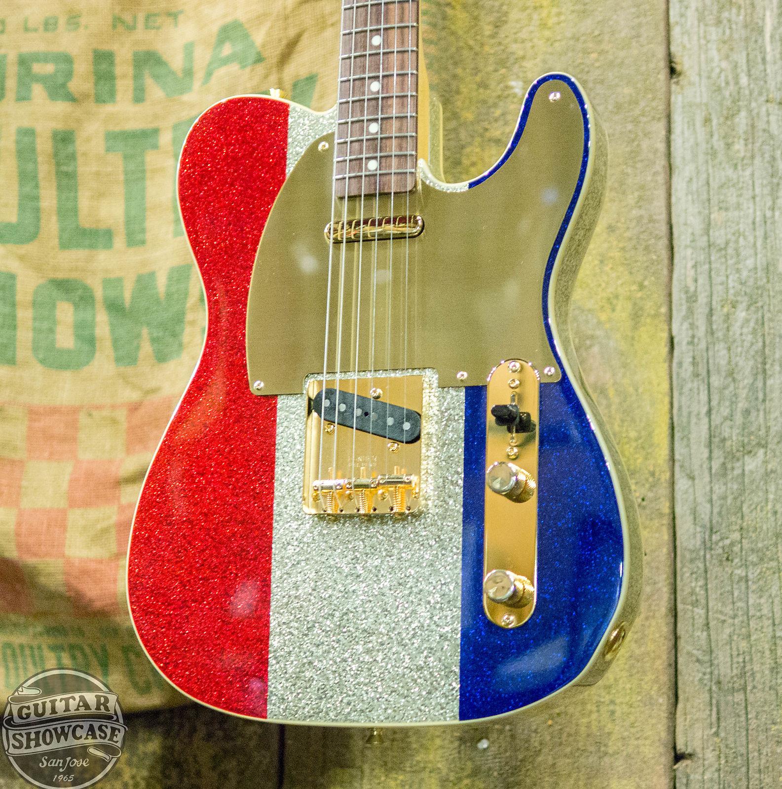 Fender Buck Owens Signature Telecaster Red, White & Blue
