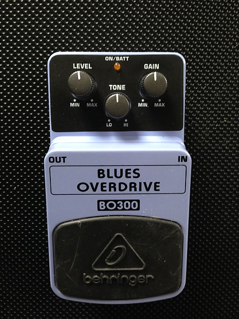 BEHRINGER BLUES DRIVER UPDATE