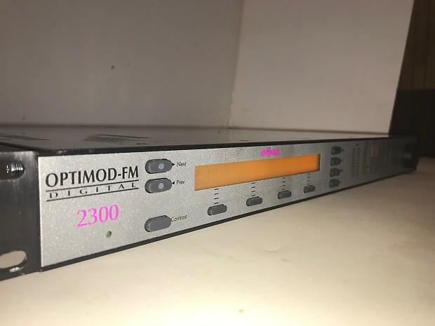 Orban Optimod FM 2300 Broadcast Digital Audio Processor