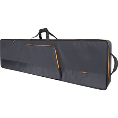 Roland CB-G76S Gold Series Slim 76-Note Keyboard Bag with Backpack and Shoulder Straps
