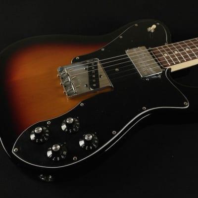 Fender Classic Series '72 Telecaster Custom - Rosewood Fingerboard - 3-Color Sunburst (417) for sale