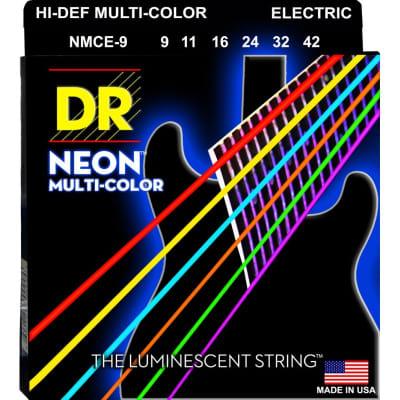 DR Neon Electric Strings Multicolor 10-46