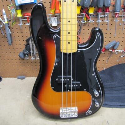 Fender Precision - Fretless Conversion 1975 Sunburst