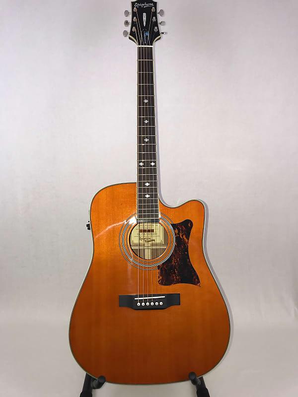epiphone masterbilt dr 500mce acoustic electric guitar reverb. Black Bedroom Furniture Sets. Home Design Ideas