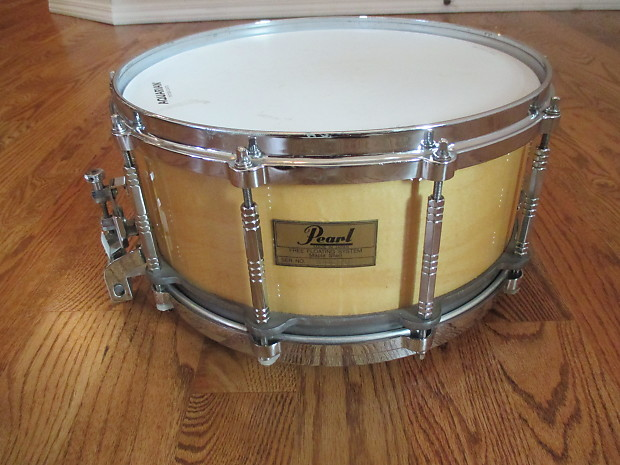 pearl 14 x 6 5 free floating all maple shell snare drum die reverb. Black Bedroom Furniture Sets. Home Design Ideas