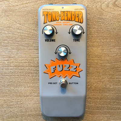 Colorsound Sola Sound Reissue Tone-Bender Fuzz Pedal for sale