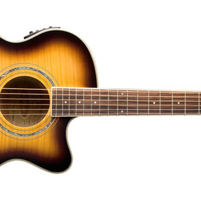 Washburn Festival EA15ATB-A Spruce Top With Flame Maple Veneer Acoustic