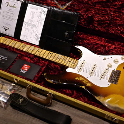 2018 Fender Custom Shop 1958 Stratocaster Custom Collection Heavy Relic for sale