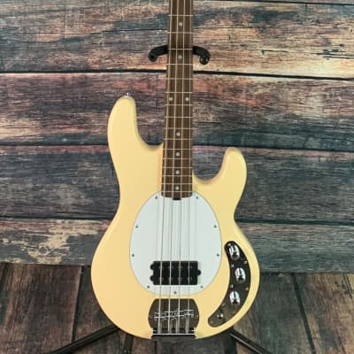Sterling by Music Man StingRay Ray4 Electric Bass - Vintage Cream for sale