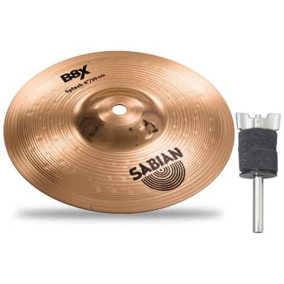 "Sabian 40805X B8X 8"" Splash Cymbal Bundle Natural - 8"""