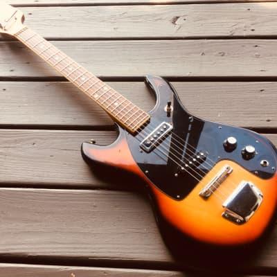 Demian Taisco 60s Era Electric Guitar (Rare) Sunburst for sale