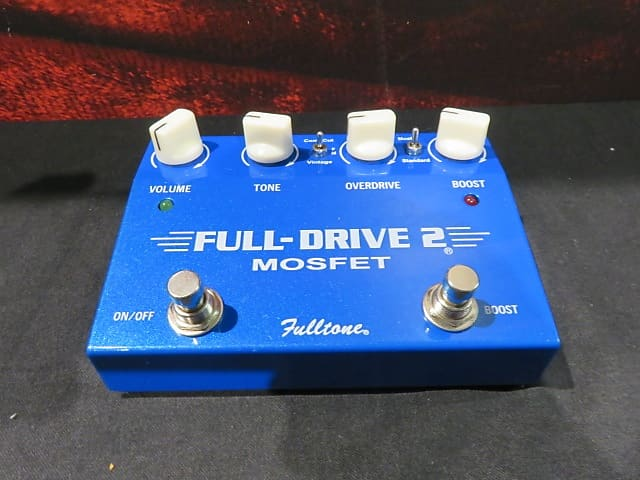 fulltone fulldrive 2 mosfet sam ash queens reverb. Black Bedroom Furniture Sets. Home Design Ideas
