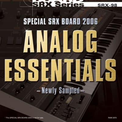 Roland SRX-98 Analog Essentials Limited Edition SRX card Worldwide Shipping