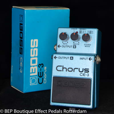 Boss CE-3 Chorus Ensemble 1983 s/n 341000 Japan as used by David Gilmour