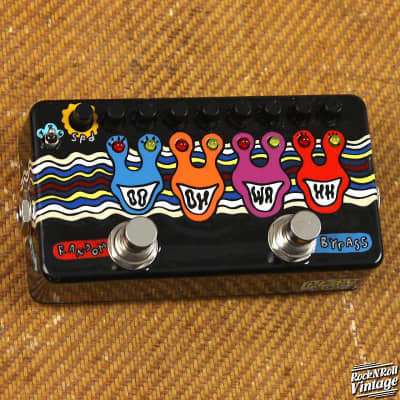 ZVEX Ooh-Wah II Custom Hand Painted