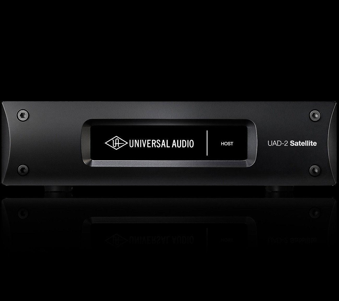 Universal Audio UAD-2 Satellite Thunderbolt QUAD Core DSP Accelerator    Reverb