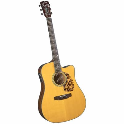 Blueridge BR-140CE Historic Series Cutaway Acoustic-Electric Dreadnought Guitar with Gigbag