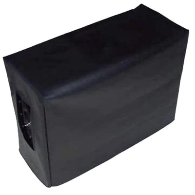 Black Vinyl Amp Cover for a Splawn 2x12 Speaker Cabinet (spla011) - Special Deal