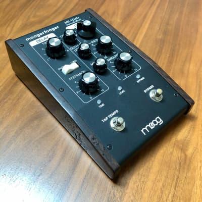 Moog MF-104M Analog Delay-ay-ay with rare limited Dark Oak sides