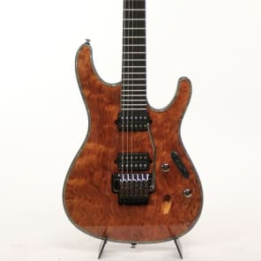 Ibanez SIX20DBGNT Electric Guitar Natural Iron Label