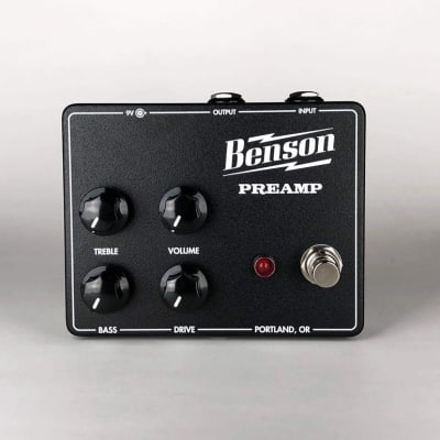 Benson Preamp Pedal- GPS Exclusive Black and Cream Finish
