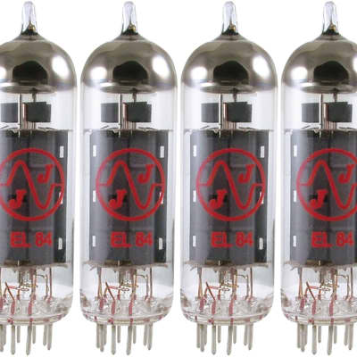 JJ Electronic EL84  Power Vacuum Tube MATCHED QUAD