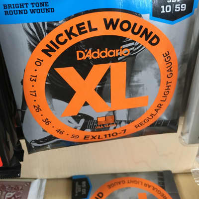 D'Addario EXL110-7 Nickel Wound 7-String Electric Guitar Strings Regular Light Gauge