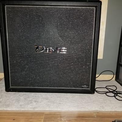 Dime 4x12 Guitar Cabinet   Black Tolex for sale