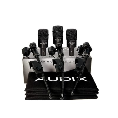 Audix D2 Trio 3 Piece Drum Microphone Package - Ships FREE Lower 48 States!