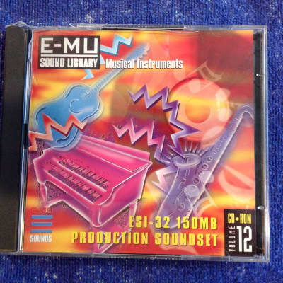 E-MU Systems E-MU Sound Library Musical instruments • ESI32 Soundset CD-ROM Vol. 12