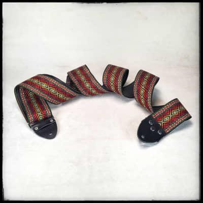 """Tom's Vintage 60s Red 'Marley' Strap (68"""")"""