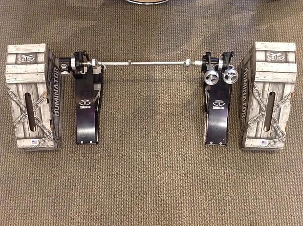 used trick dominator double pedal reverb. Black Bedroom Furniture Sets. Home Design Ideas