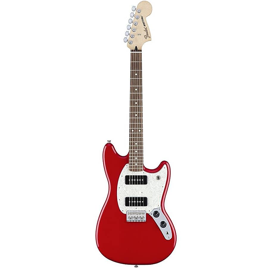 fender mustang 90 6 string electric guitar torino red reverb. Black Bedroom Furniture Sets. Home Design Ideas